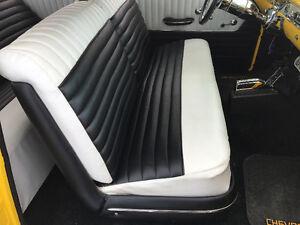 Banc avant complet pour Chevrolet 1955-1956-1957