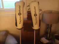 1 Taylormade  5 & 1 Taylormade 7 Burner series right handed