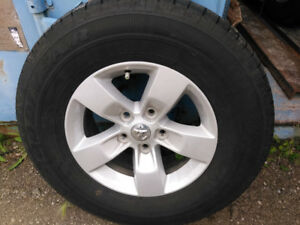 """Dodge 17""""truck tires and rims,for sale,"""