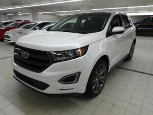 Ford EDGE Sport AWD TOIT+SUÈDE 2.7 L 330 HP comme neuf  2017