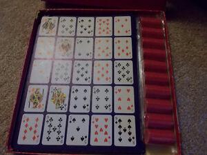 Po-Ke-No Poker-Keno 12 Board Set--nice vintage game! London Ontario image 2