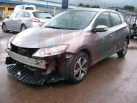 2015 Nissan Pulsar 1.2 DIG-T Acenta DAMAGED REPAIRABLE SALVAGE