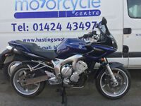 Yamaha FZ6 / Fazer 600 / Commuter / Finance / Nationwide Delivery