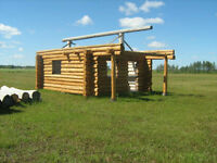 LOG CABIN SHELL / MB SAVE THOUSANDS $$$$ LIMITED TIME OFFER!!