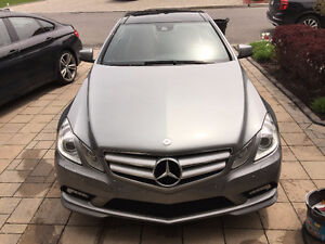2010 Mercedes-Benz E-Class Full Option Coupe (2 door)