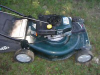 Self drive 22inch Craftsman with NEW engine!!