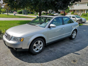LOW KMS 2003 Audi A4 3.0 Quattro 4 dr AWD 103kms