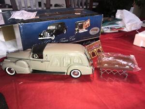 Corbillard Cadillac 1938 Town car Hearse diecast 1/18 die cast