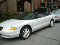 1997 Chrysler Sebring Convertible  NEW REDUCE PRICE !!!!!