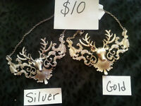 DEER NECKLACES