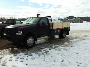 2003 Ford F450 Dually Flat Deck NEW ENGINE/DECK/INJ $ or TRADES?