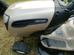 $2499 - 2012 Craftsman Lawn Tractor (Limited Edition) with bagge