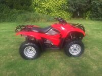 Honda trx 420 4x4 2013 immaculate 1700 hours light use must see