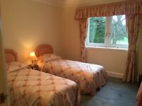 Curtains, Pelmet and 2 Single Bedspreads