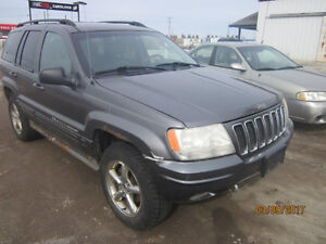 LAST CHANCE PARTS! 2002 JEEP GRAND CHEROKEE @ PICNSAVE WOODSTOCK