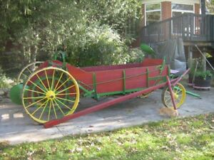 Antique John Deere Manure Spreader