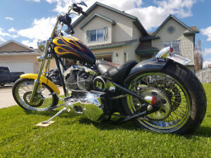 Custom motorcycle for sale or trade for property