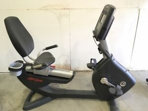Life Fitness PCSR Recumbent Bike for sale (High-end residential)