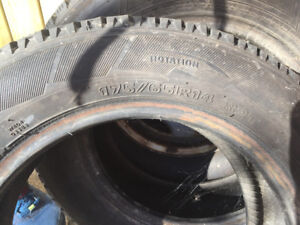 Two Winter Tires for Sale