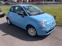 2011 Fiat 500 1.2 ( start/stop ) POP - New MOT - Only 54776 Miles