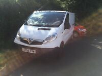 Vauxhall Vivaro lined and carpeted. Ideal day van / camper