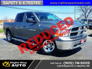 2011 Dodge Ram 1500 Crew ST   4x4   SAFETY & E-TESTED