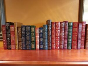 Easton Press Leather Bound 100 greatest books collection
