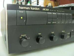 Récepteur Amplificateur  - Harman Kardon HK3500 - Japan 1991