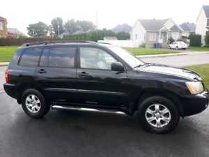 Toyota Highlander 2002 limited V6 AWD