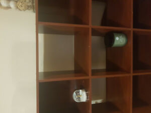 Shelf Unit-9 Sections-Brown