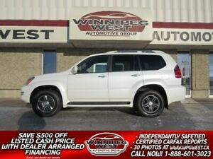 2008 Lexus GX 470 LUXURY 4X4, 8 PASS, 1 OWNER, LOADED, FLAWLESS!