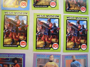 Mego Museum Collector Cards and Others Stratford Kitchener Area image 2