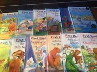 12 M&S first readers books