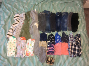 6-18 month clothing lot