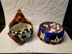 Food and Water Dog Bowls