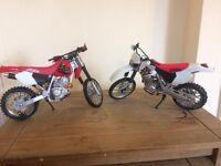Honda 400r bike models