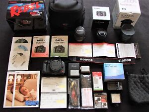 Canon Rebel T1i/500D Kit EF-S 18-55mm, EF 50mm, Rokinon Fisheye