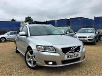 2011 Volvo V50 R-Design 2.0D D3 ( 150PS ) Estate Warranty Delivery Px available