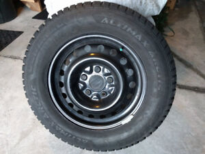 """16"""" Winter Tires on Rims - Nearly New"""