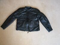 Belstaff leather jacket and Richa leather trousers