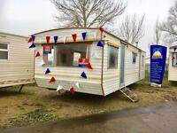 Static Caravan Nr Clacton-on-Sea Essex 2 Bedrooms 6 Berth Delta Santana 2002