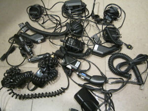 Selling bunch of wall and & car cell phone chargers
