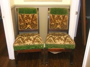 2 ANTIQUE PARLOR CHAIRS IN ORIGINAL CONDITION St. John's Newfoundland image 1