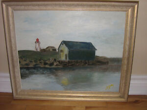 FRAMED OIL PAINTING-GREAT PRICE !!!