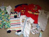 Baby boy Summer Clothes 0-3months BNWT