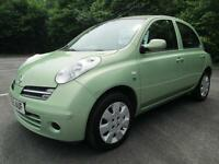06/55 NISSAN MICRA SE 1.5DCI 5DR HATCH IN MET GREEN