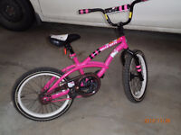 Girls 16 inch Bicycle (Like New)