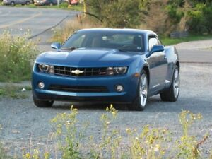 "2010 ""Aqua Blue Metallic Camaro"""