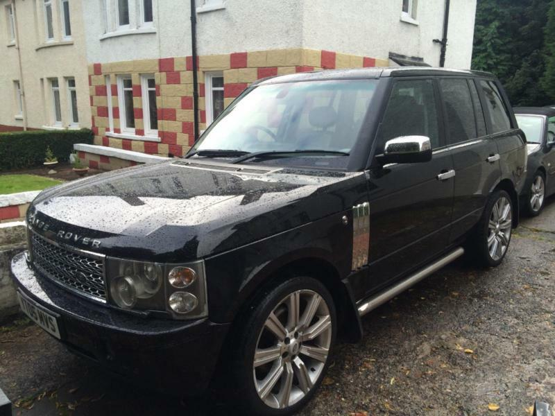 land rover range rover 3 0 td6 auto 2005my hse in east. Black Bedroom Furniture Sets. Home Design Ideas