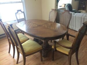 Reduced Again- 7 Piece Stanley Furniture Dining Set